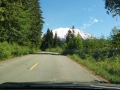 Driving to the trailhead.