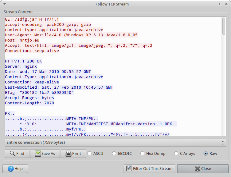 Fun with Wireshark and IE Exploits |